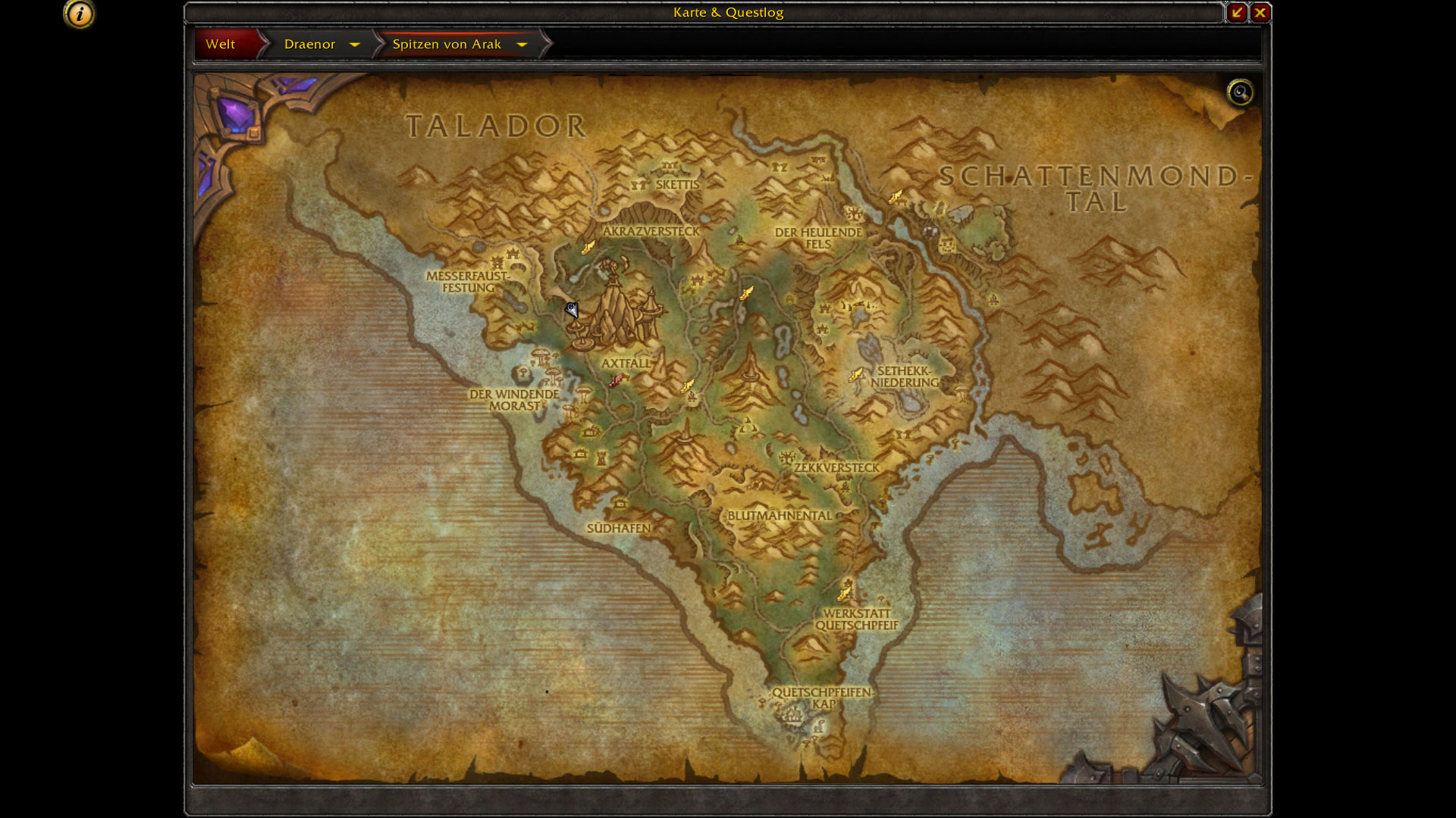 Guides zur Dungeon: Himmelsnadel - Warlords of Draenor on