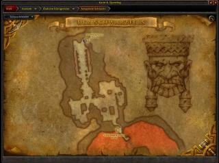 Schwarzfelstiefen Eingang - World of Warcraft